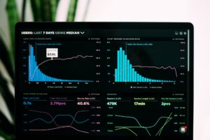 Metrics combine two or more measures to provide context and more information.