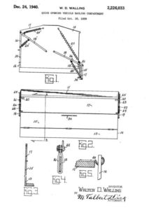 Walter D. Walling Patent