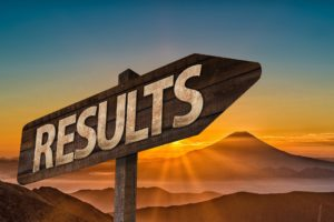 Outcome Metrics look at results, things that are already complete.